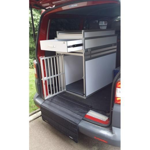 cage de transport pour chien et chat cage avec tiroir de rangement et galerie. Black Bedroom Furniture Sets. Home Design Ideas